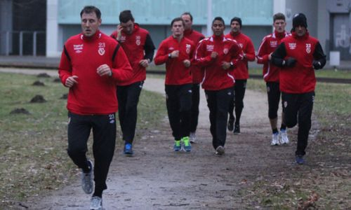 Fußballtraining Rückrundenvorbereitung