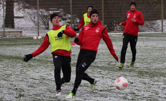 Fußballtraining Rückrundenvorbereitung kleine Spielformen