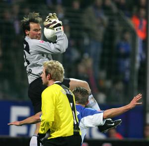 Rene Renno im Spiel gegen Borussia Dortmund