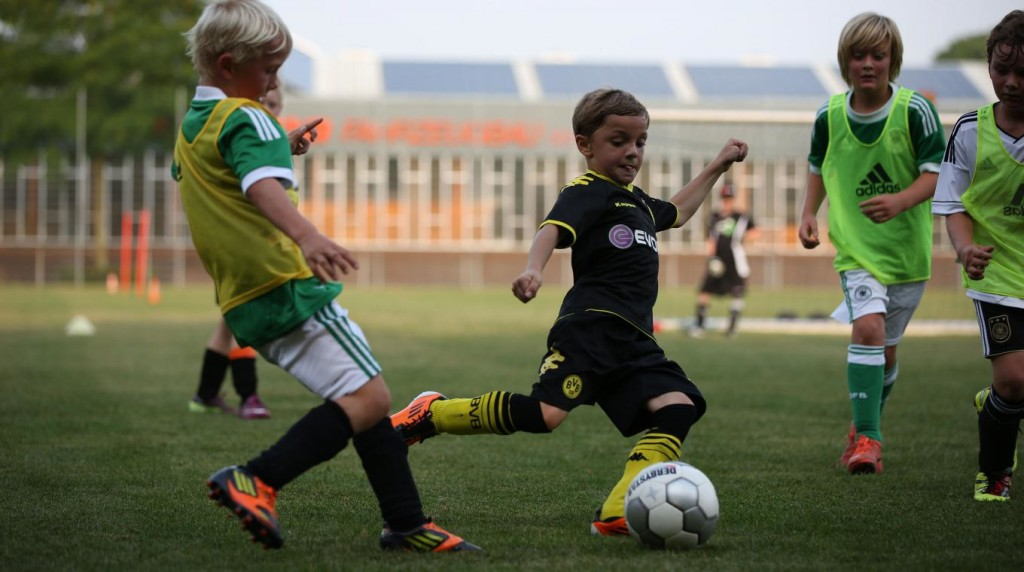 Kindertraining Fußball-E Jugend Fussballtraining
