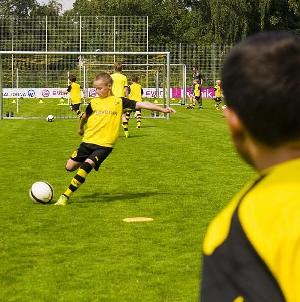 Torschussübungen Borussia Dortmund