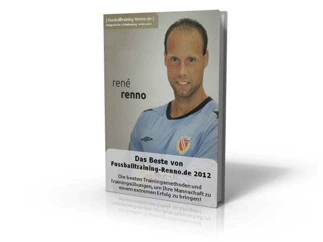 Fussballtraining Renno Besto of 2012 3D Buch Grafik