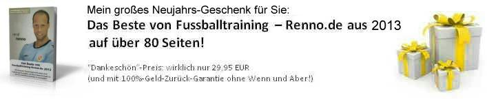 Fussballtraining Renno best of 2013 header