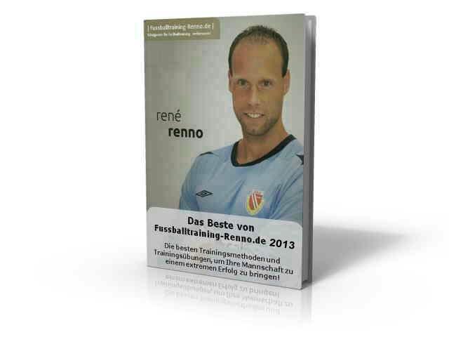 Fussballtraining Renno Besto of 2013 3D Buch Grafik